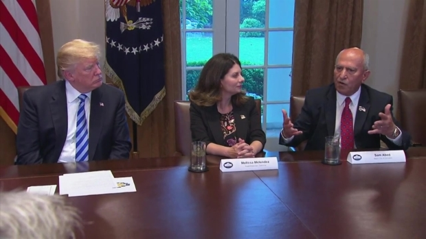 [DGO] Mayor Sam Abed Meets with President Trump