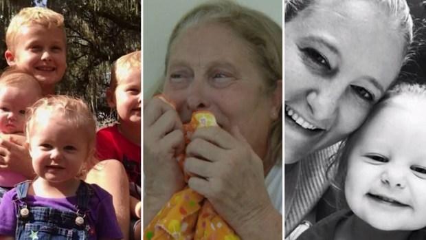 Desconsolada: el llanto de una abuela por sus nietos asesinados