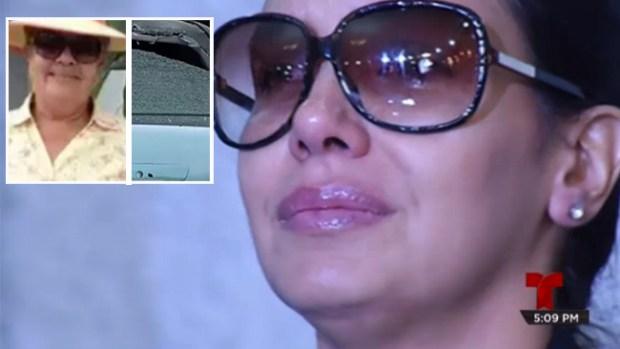 Devastada ex reina de belleza tras asesinato de su madre