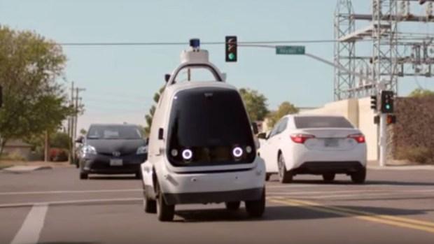 [TLMD - LV] Lanzan vehículo autónomo para compras de supermercado