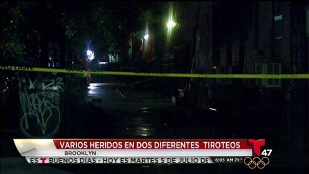 [TLMD - NY] Balaceras dejan ola de heridos