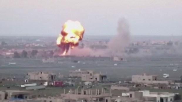 En video: los bombazos contra ISIS