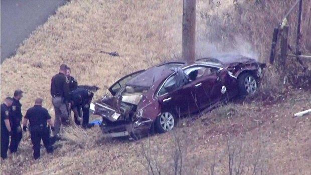 Espectacular persecución policial en Oklahoma