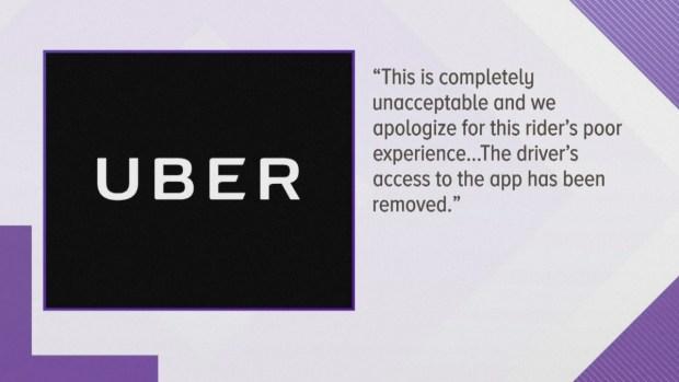 [TLMD - MIA] Pasajera graba a chofer de Uber orinando durante viaje
