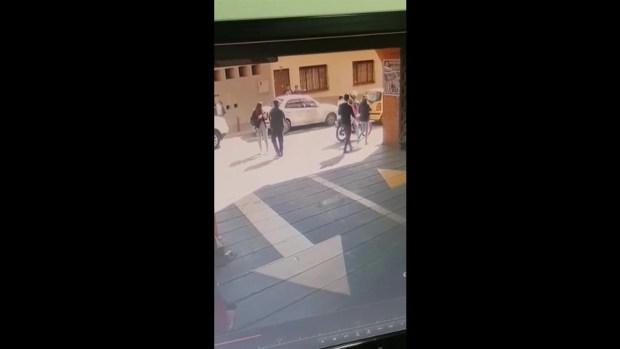 [TLMD - LV] Captado en video fuga de excogresista colombiana