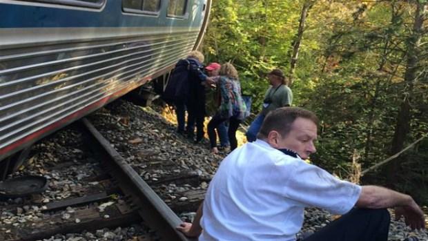 Se descarrila tren AMTRAK en Vermont
