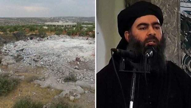 Así quedó el escondite de Baghdadi