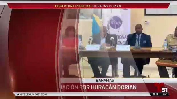 [TLMD - LV] Ordenan evacuación en Las Bahamas