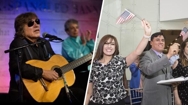 José Feliciano le canta a los inmigrantes en DC