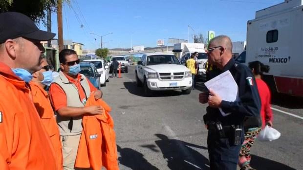 [TLMD - LV] Migrantes centroamericanos comienzan a concentrarse a las puertas de EEUU