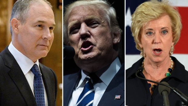 Quién es quién en el gabinete del presidente Trump