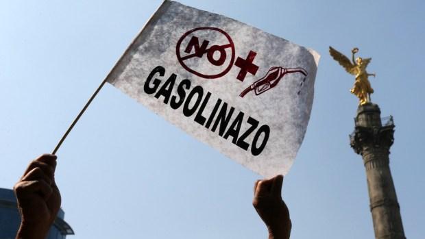 Detenidos y cierre de gasolineras por protestas