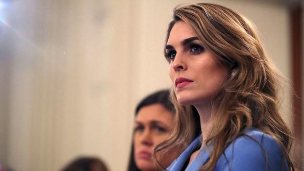 Quién es Hope Hicks, la asesora que más duró con Trump
