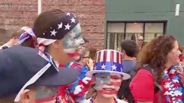 Fotos: Desfile de la Copa Mundial Femenina