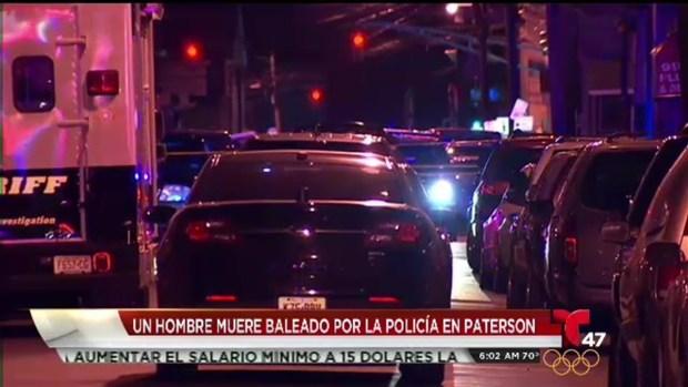 [TLMD - NY] Hombre armado muere ultimado a tiros en Paterson