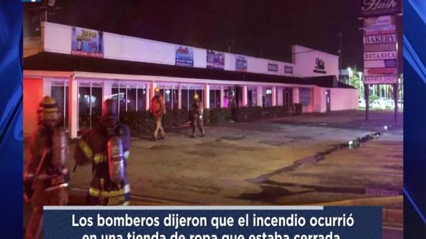 [TLMD - Tampa] Incendio consume centro comercial de Tampa