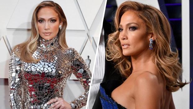 J-Lo luce sus impresionantes curvas en la noche de los Oscar