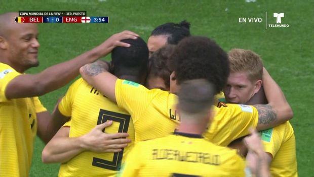 [World Cup 2018 PUBLISHED] Magnifica jugada de Bélgica y Meunier marca un golazo