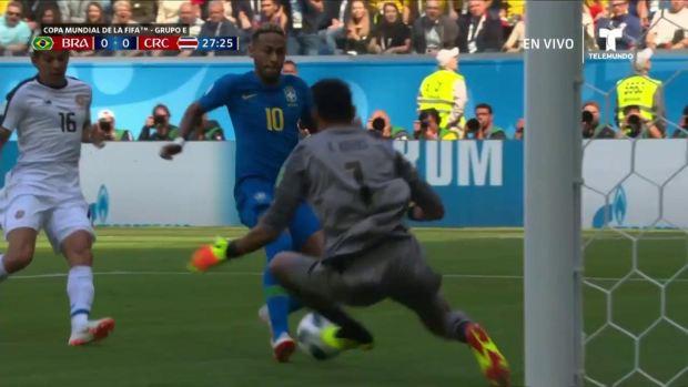 [World Cup 2018 PUBLISHED] El mano a mano de Neymar ante Keylor Navas