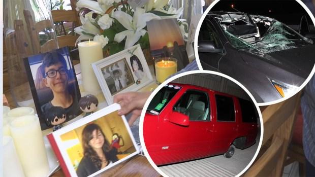 Llanta mortal: se desprende de camioneta y mata a primos