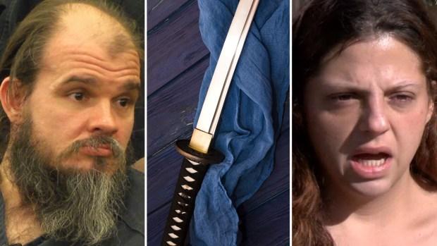 Culpable: por $62 ataca a su exnovia con una espada samurái