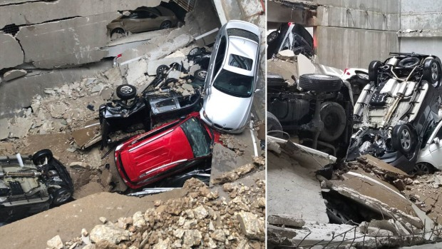 En imágenes: así quedó edificio de Dallas tras mortal desplome de grúa