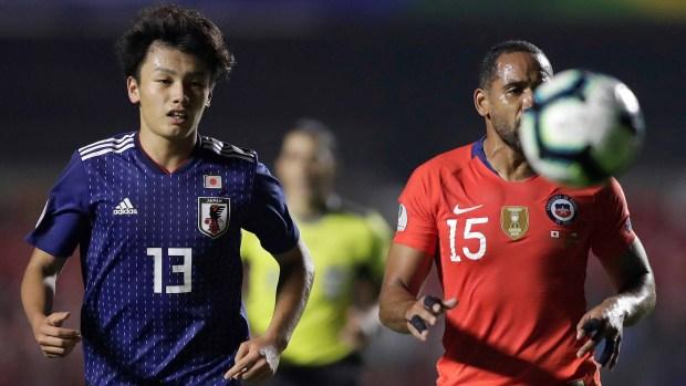 [TLMD - LV] Japón se pierde oportunidad casi perfecta de empatar con Chile