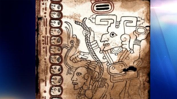 Exhiben el Códice Maya, el documento más antiguo