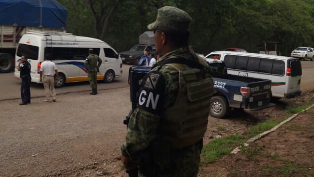 Miembros de Guardia Nacional denuncian incomodidades