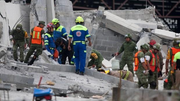 Derrumbe de centro comercial causa 7 muertes