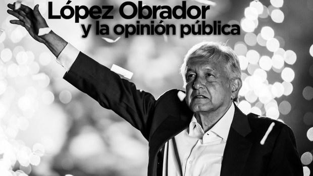 López Obrador y la opinión pública