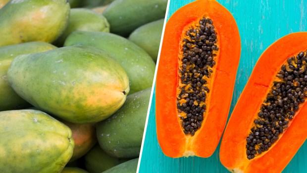El peligro oculto de las papayas que puede causar la muerte