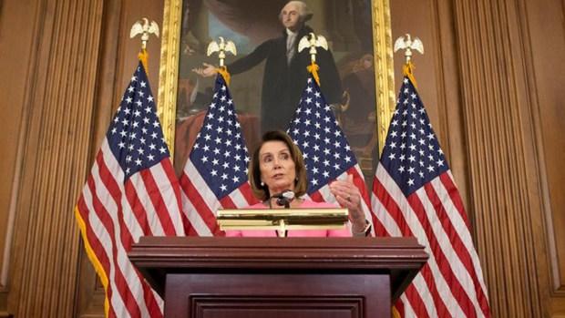 Pelosi asegura respaldo para volver a ser líder mayoritaria