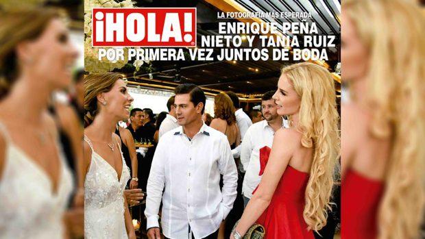 [TLMD - LV] Imágenes: reaparece Peña Nieto junto a su supuesta novia
