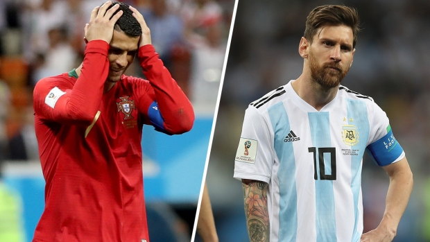 [ PUBLISHED World Cup 2018] A lo Messi: Cristiano falla penal ganado vía VAR