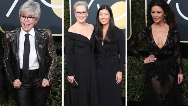 Los Golden Globe se tiñen de negro contra el acoso sexual