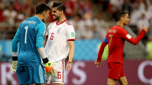 "[WORLD CUP 2018 PUBLISHED] Irán vs Portugal: la ""calentura"" entre propio equipo"