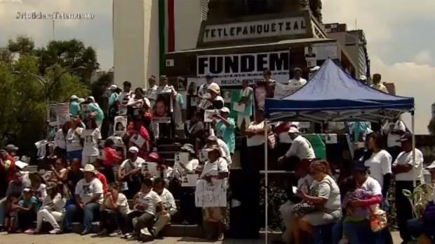 Continúa el drama por los desaparecidos en México