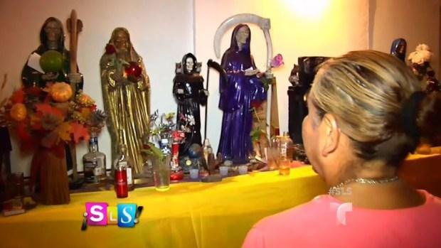 La Santa Muerte atrae a narcotraficantes