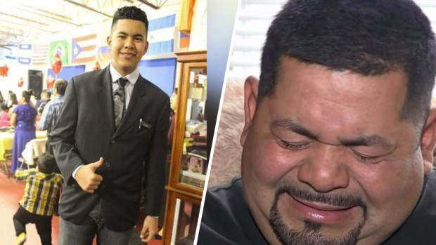 """""""Yo lo perdono"""": rompe el silencio el padre de hispano atropellado"""