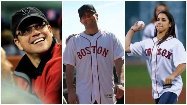 Famosos que son fanáticos de los Medias Rojas de Boston