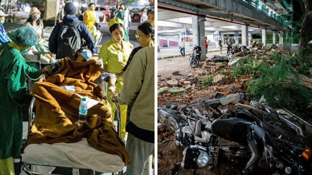 Terremoto en Indonesia deja muerte y destrucción