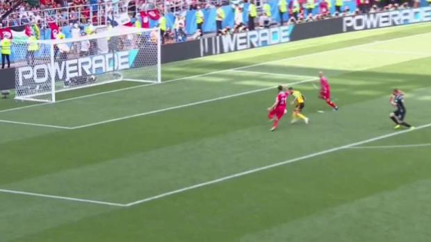 [TLMD - Denver] Así fue el cuarto gol de Bélgica