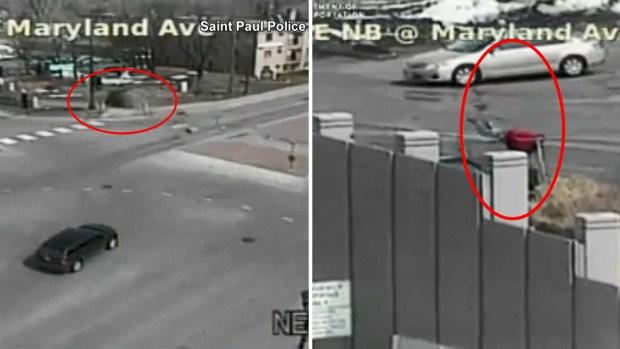Increíble persecución: auto se vuelca y el sospechoso escapa a pie