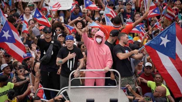 El poder de los artistas boricuas y del pueblo de Puerto Rico