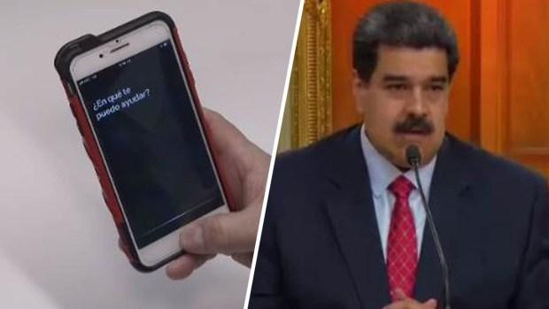 [TLMD - MIA] Siri responde quién es el presidente de Venezuela