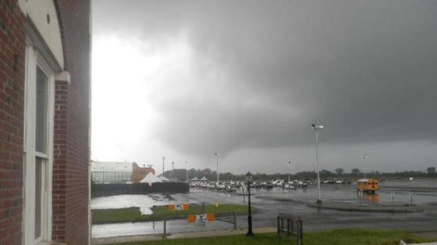 Video: Azotan dos tornados a NY