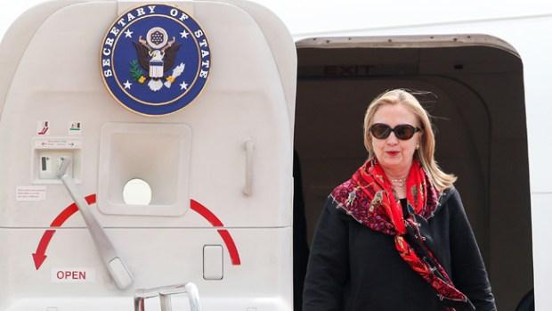 Galería: Se recupera Hillary tras desmayo