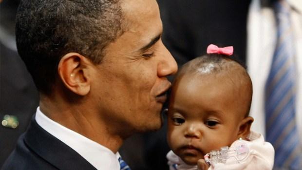Barack Obama: el presidente besucón