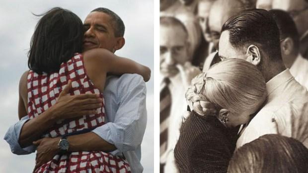 Video: Abrazos presidenciales